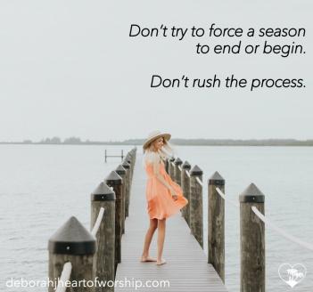 Dont rush process