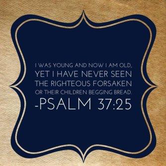 psalm 37.25