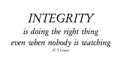 WHAT DOES INTEGRITY LOOK LIKE FOR YOU? – edscarano.com