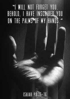 pic - Isaiah 49 16