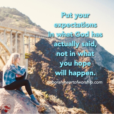 expectationingod