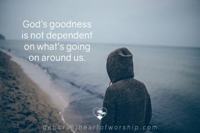 God is good, loving Jesus