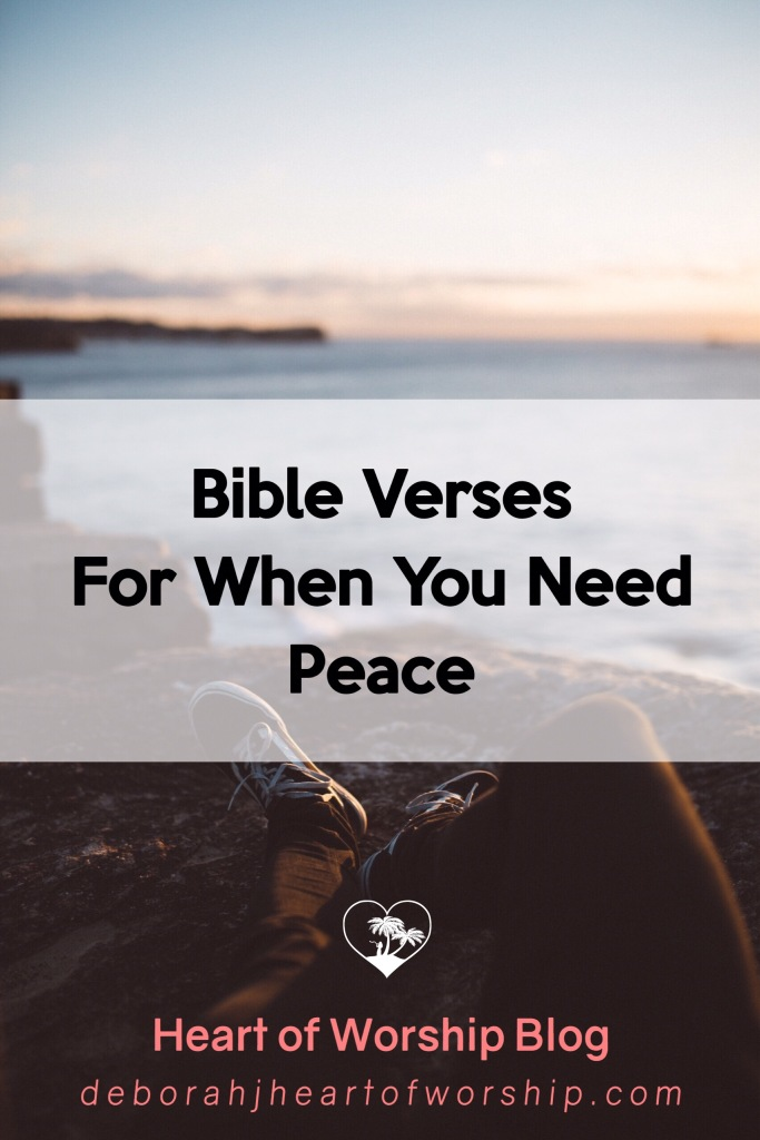 Bible verses about peace, the peace of God, peace in the Bible